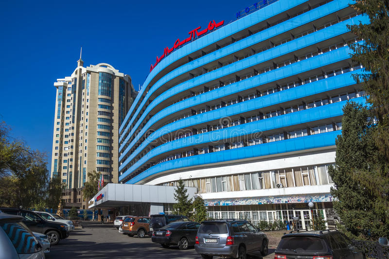 Almaty - Modern architecture royalty free stock photos
