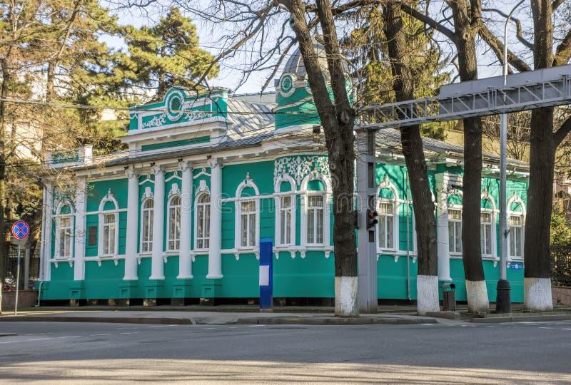 Almaty - Old merchants house stock photography