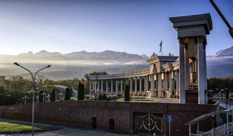 Almaty stock fotografie