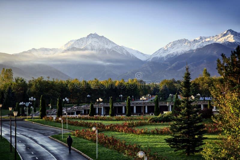 Almaty royalty-vrije stock foto's