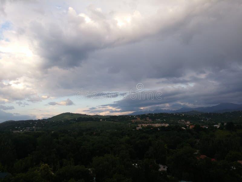 Almaty-Stadtansicht stockbilder