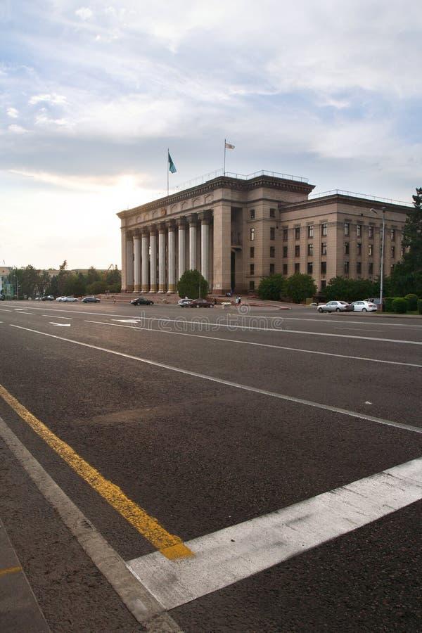 Almaty stary kwadrat zdjęcia stock