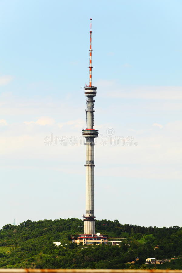 Download Almaty Tower stock photo. Image of architectural, hill - 31579940