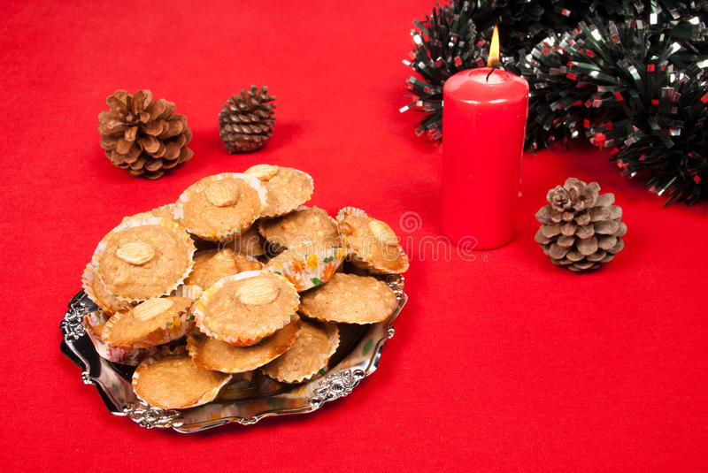 Download Almendrados stock photo. Image of horizontal, nuts, cookies - 26549454