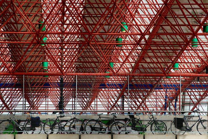 almere σιδηροδρομικός σταθμό&sigm στοκ εικόνα
