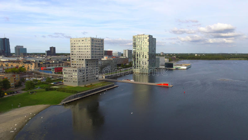 Almere Skyline royalty free stock images