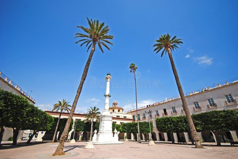 Almeria i Spanien royaltyfri foto