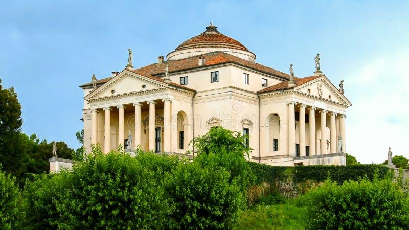 Almerico-capra della villa situata a Vicenza (Veneto) Italia immagine stock libera da diritti