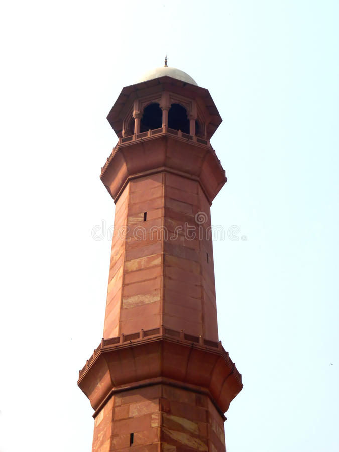 Alminar de la mezquita imágenes de archivo libres de regalías