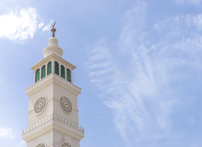 Alminar de la mezquita foto de archivo libre de regalías