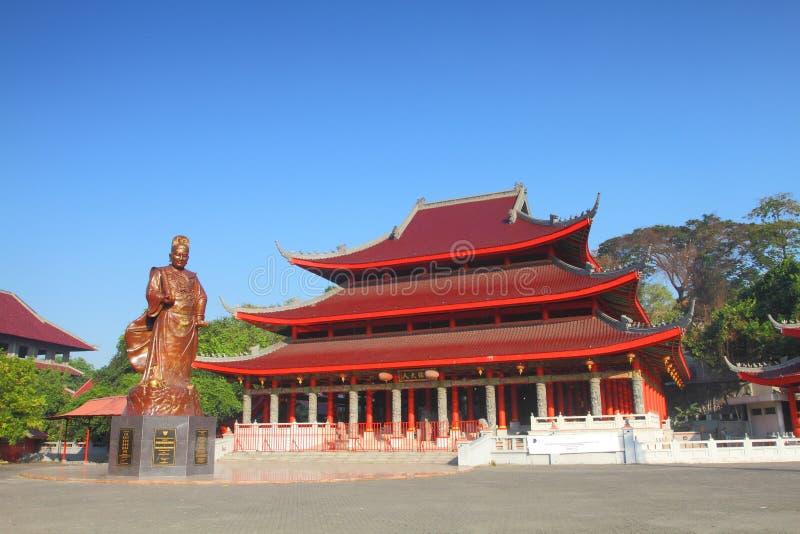 Almirante Ceng Ho Temple imagem de stock royalty free