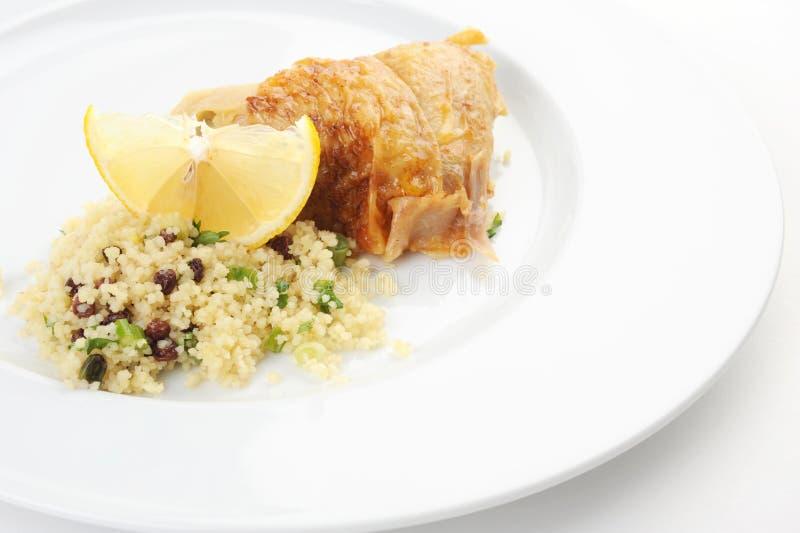 Download Almoço foto de stock. Imagem de refeição, carne, couscous - 12812634