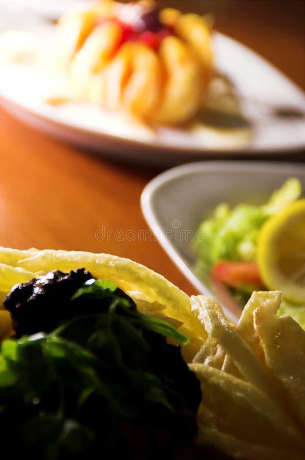 Almoço imagens de stock