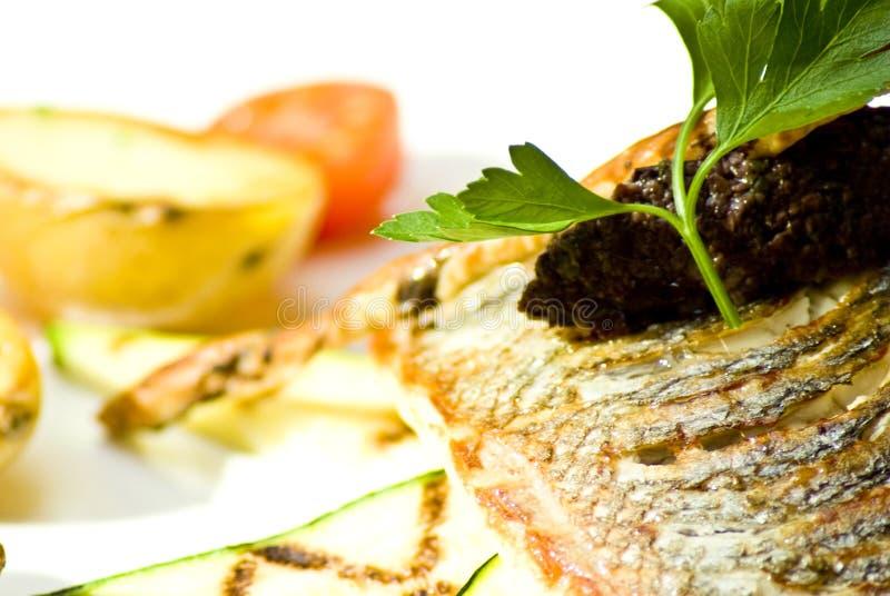 Almoço claro imagem de stock