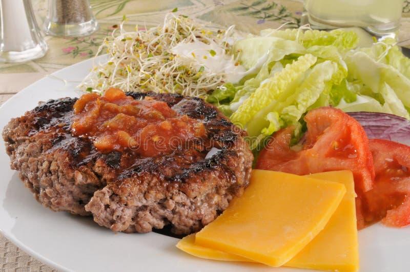 Almoço da dieta imagens de stock royalty free