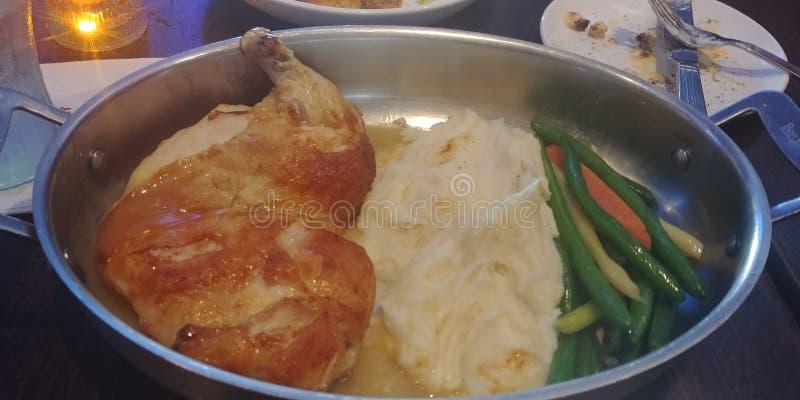Almoço da galinha foto de stock royalty free