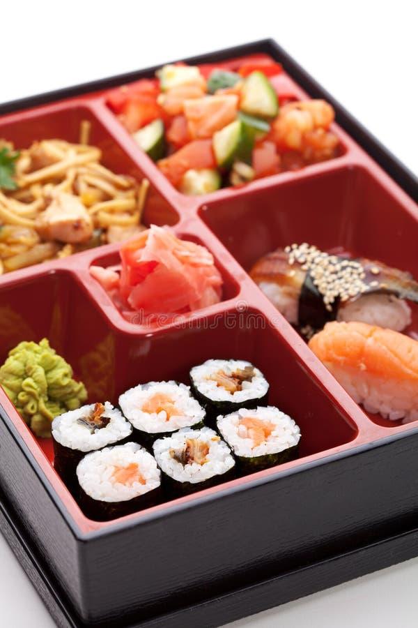 Almoço de Bento foto de stock royalty free