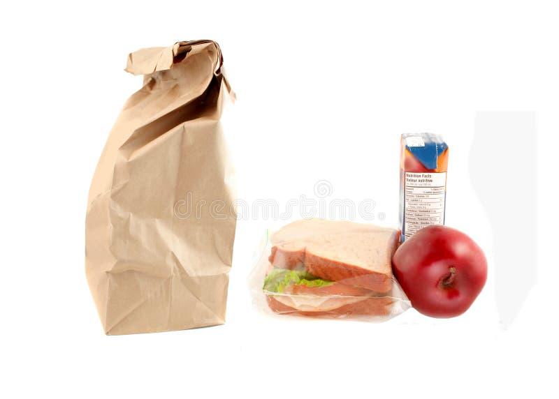 Almoço de escola saudável foto de stock royalty free