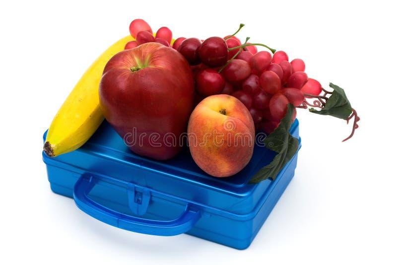 Almoço de escola saudável fotografia de stock