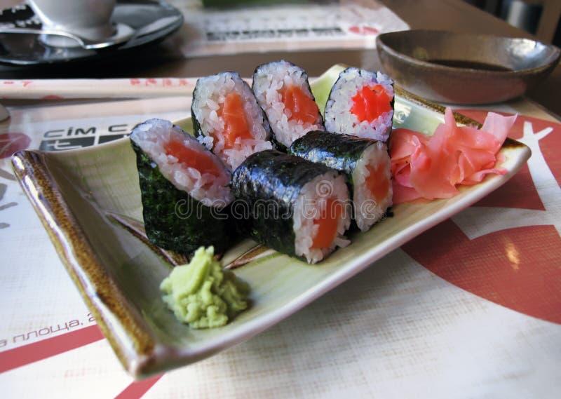 Almoço do sushi fotografia de stock