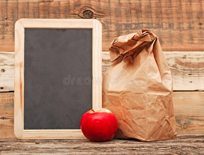 Almoço escolar foto de stock