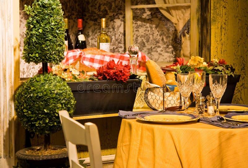 Almoço francês imagem de stock royalty free