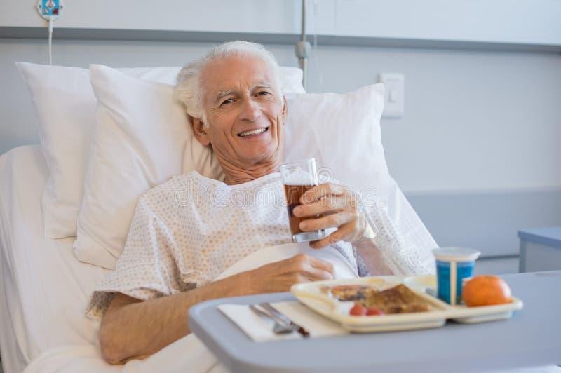 Almoço no hospital fotografia de stock
