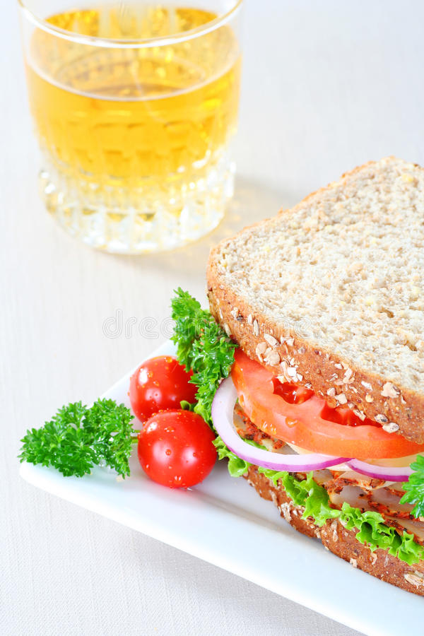 Almoço saudável foto de stock royalty free