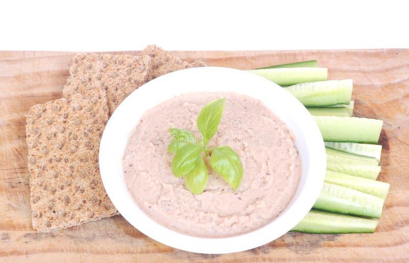Almoço saudável do vegetariano imagem de stock