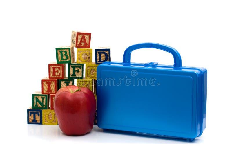 Almoços de escola imagens de stock
