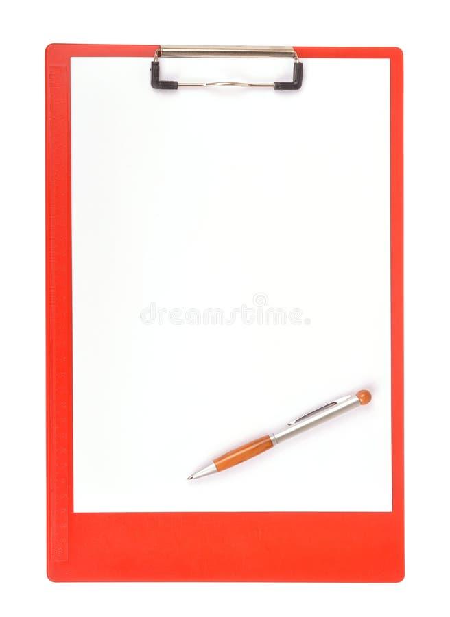 Almofada de escrita imagem de stock royalty free