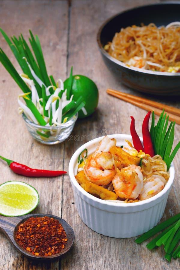 Almofada do camarão tailandesa foto de stock royalty free