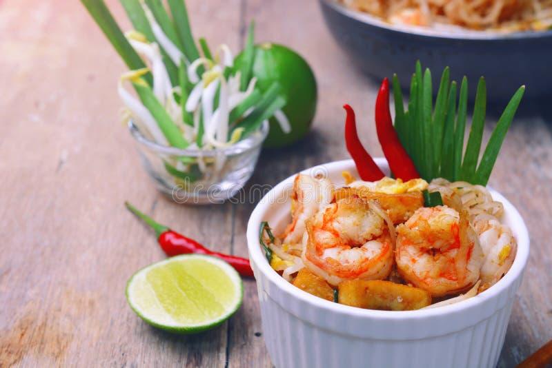 Almofada do camarão tailandesa fotos de stock