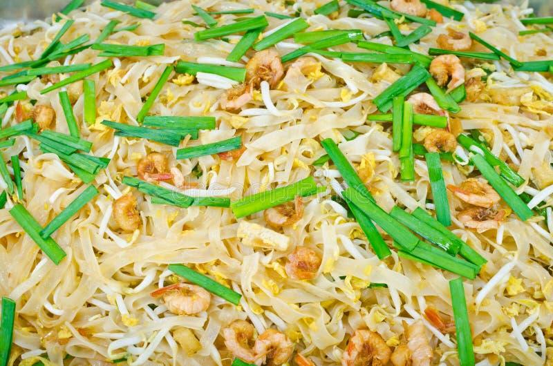 Download Almofada Tailandesa Tailandesa, Macarronetes Do Alimento Da Fritada Do Stir Com Camarão Imagem de Stock - Imagem de refeição, almofada: 29838433
