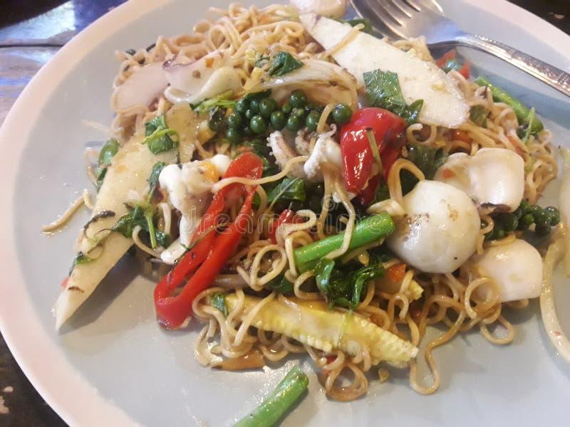 ALMOFADA tailandesa KI- MAO do alimento fotos de stock royalty free