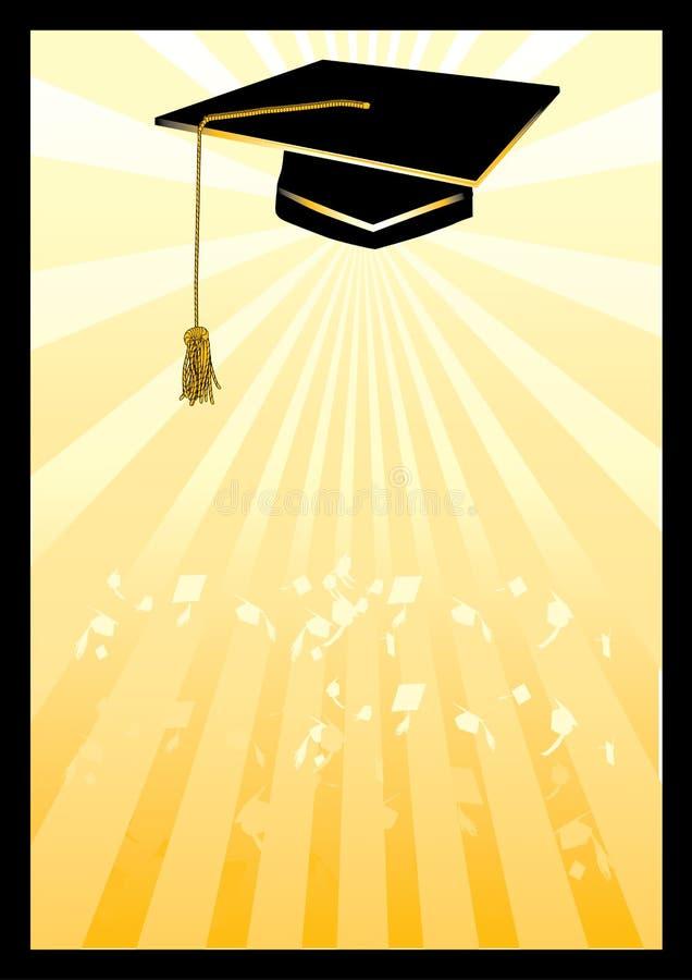Almofariz no projector amarelo. ilustração royalty free