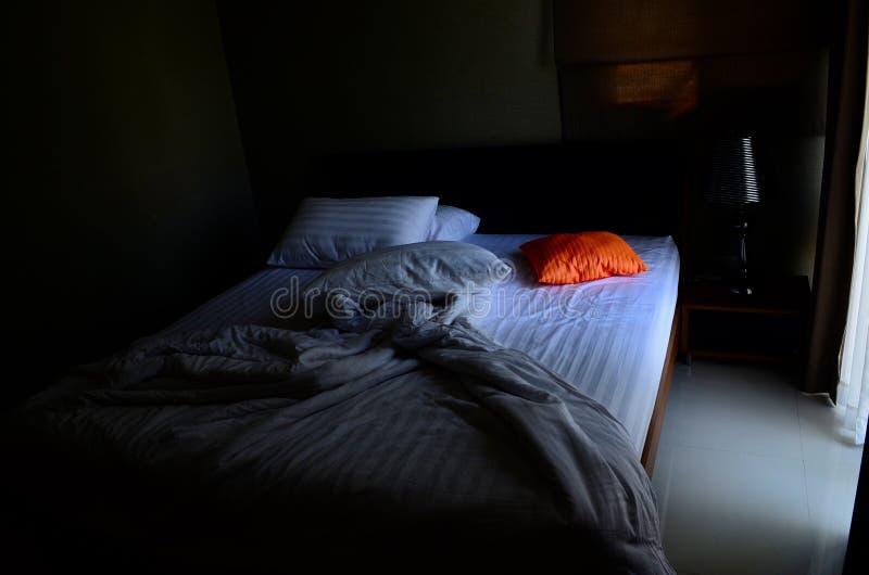 Almohadilla anaranjada foto de archivo libre de regalías