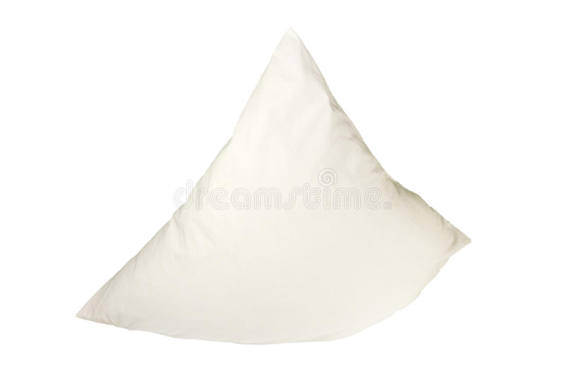 Almohadilla blanca foto de archivo