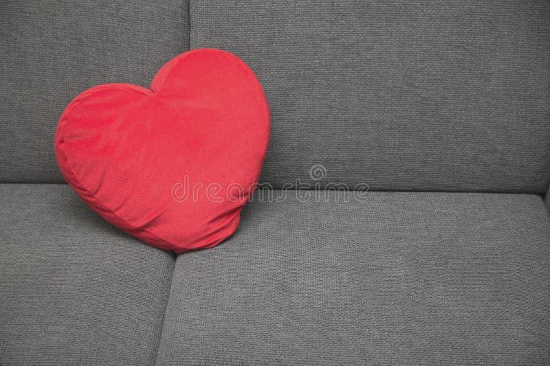 Almohadilla del corazón fotografía de archivo libre de regalías