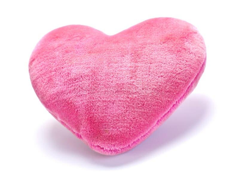Almohadilla rosada decorativa fotografía de archivo libre de regalías