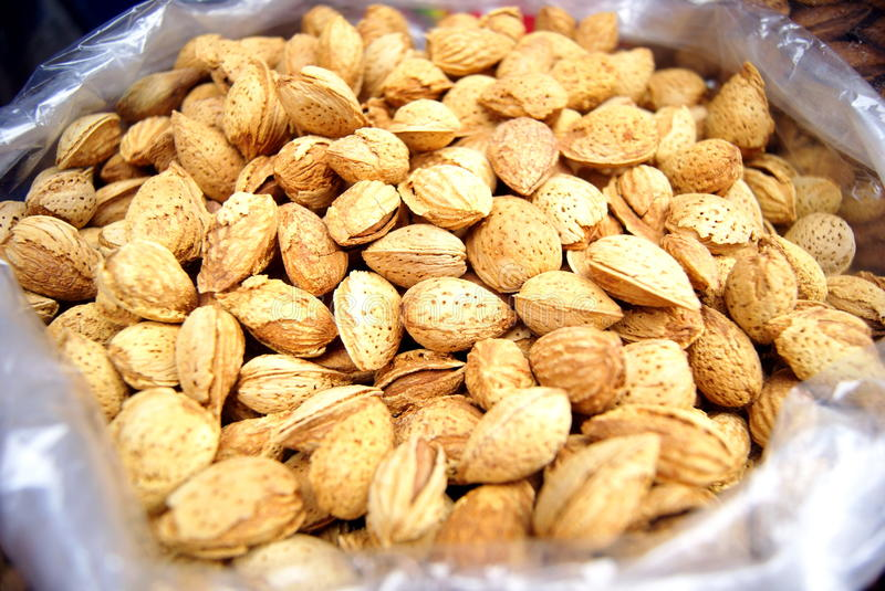 Download Almond stock photo. Image of food, fruit, nutrition, features - 25676548