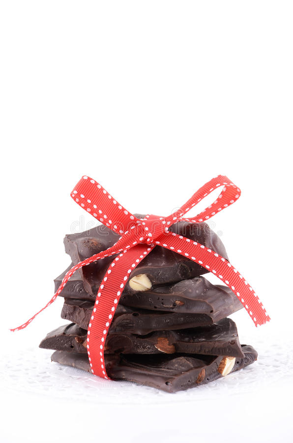 Download Almond bark stock photo. Image of nuts, ribbon, brittle - 26531988