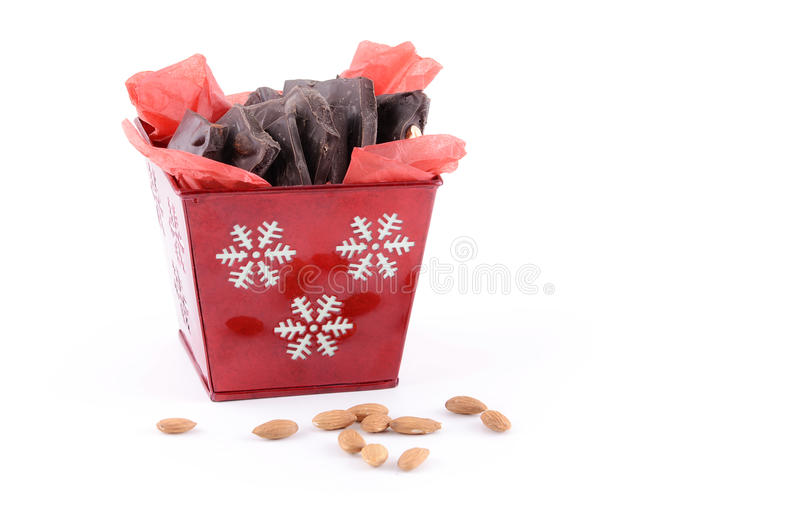 Download Almond bark stock image. Image of horizontal, nuts, confectionery - 26673357