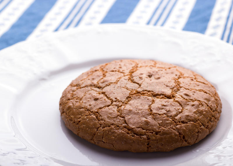 Download Almond cookie stock photo. Image of tasty, blue, snack - 39510840