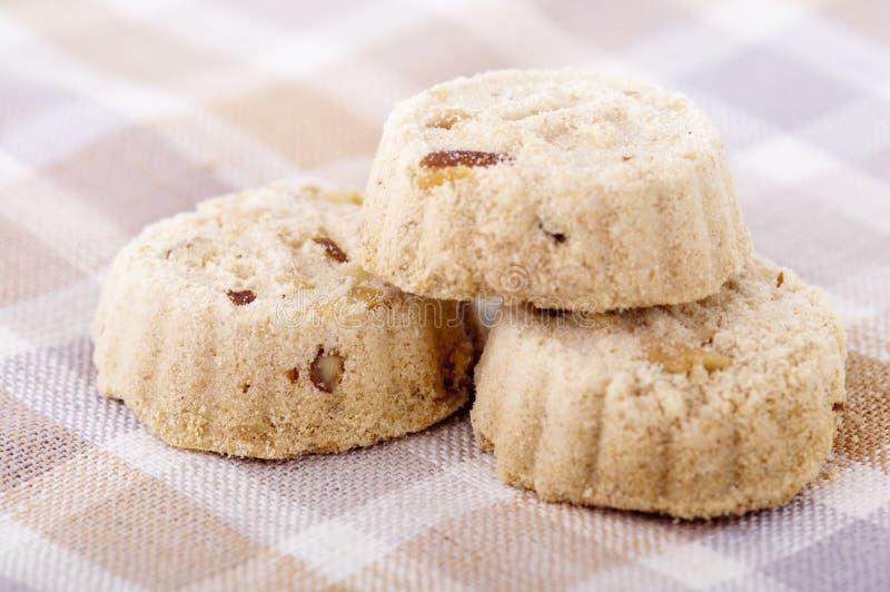 Almond cookies royalty free stock photos
