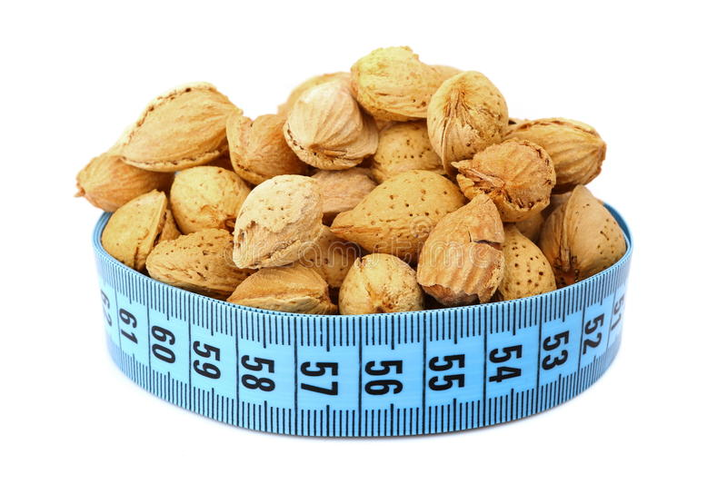 Download Almond and meter stock photo. Image of length, millimeter - 29892056