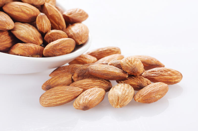 Almond Nuts Stock Images