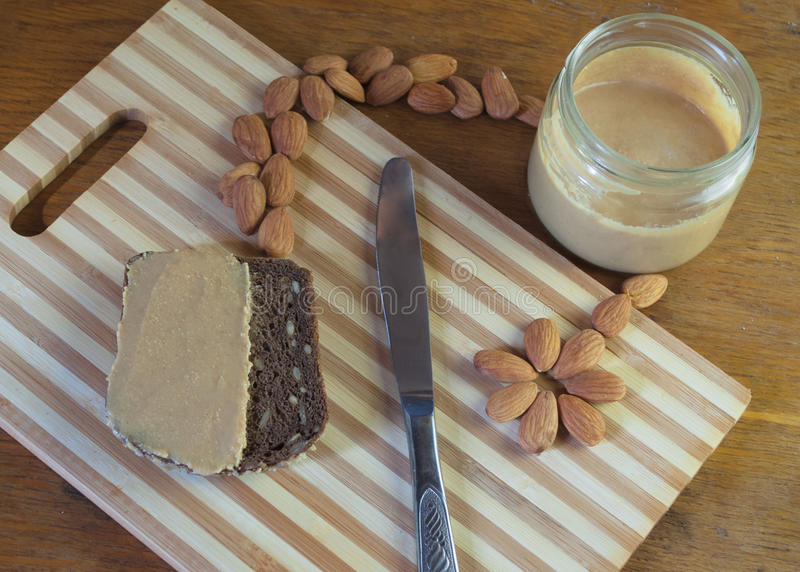 An almond paste royalty free stock photography