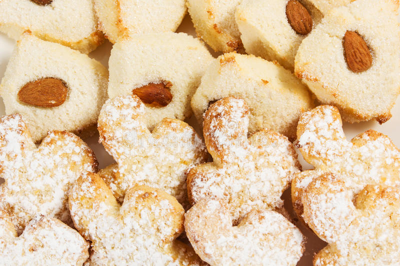 Almond paste royalty free stock photography