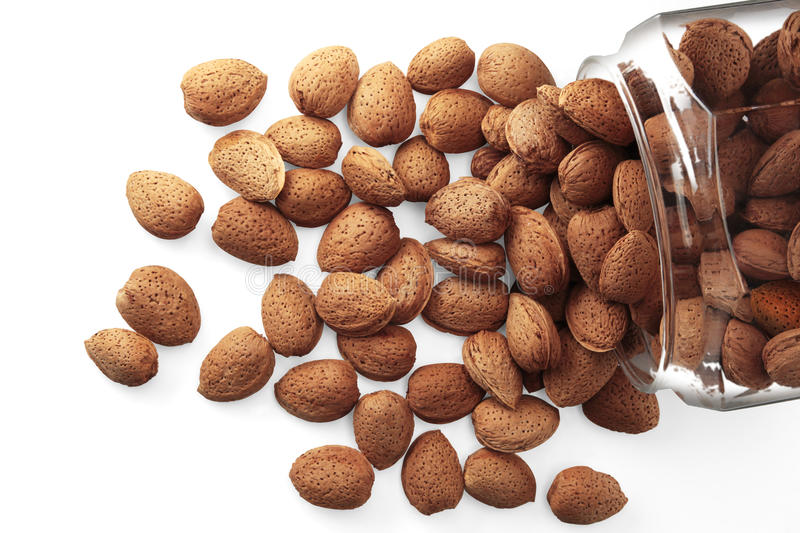 Download Almonds stock image. Image of lifestyle, isolated, ingredients - 22484365
